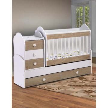 Baby Convertible Colour Combinations Swing Bed Lady- Freze
