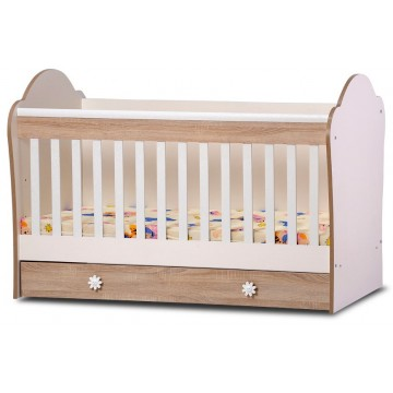 Baby One Drawer Convertible Bed Kalina
