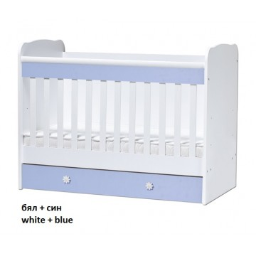 Colour Combinations One Drawer Baby Bed Svetla