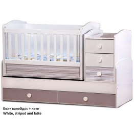 Baby Convertible Colour Combinations Swing Bed Nia-Gloss