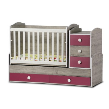 Baby Bed with a Swing Mechanism Nia Standard