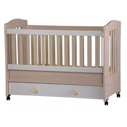 Baby Colour Combinations Bed Kleo with Movable Grid