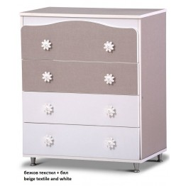 Baby Room Four Drawers Dresser Freze