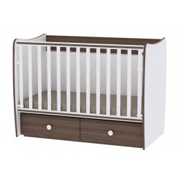 Baby Bed with Two Drawers Lorelli Matrix