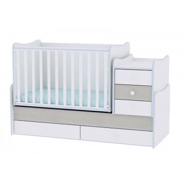 Luxury Convertible Baby Bed with a Swing Mechanism Lorelli Maxi Plus