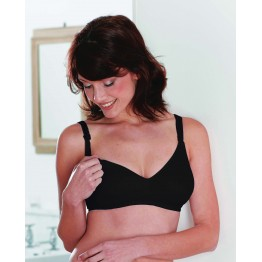 Maternity Black Non Padded Nursing Bra