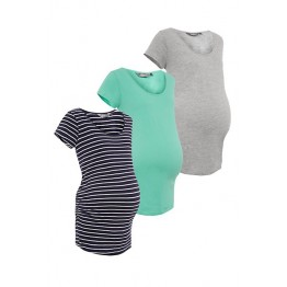Maternity Light Grey Short Sleeve T-Shirt