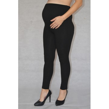Maternity Black Dense Full Length Leggings