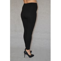 Maternity Black Full Length Cotton Leggings