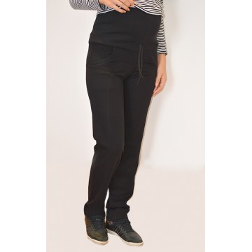 Maternity Black Overbump Pants