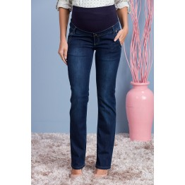 Maternity Dark Denim Regular Fit Jeans