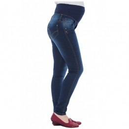 Maternity Blue Soft Fabric Jeans