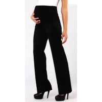 Maternity Black Regular Fit Trousers