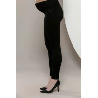 Maternity Black Sport Style Trousers