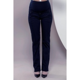 Maternity Dark Blue Official Trousers