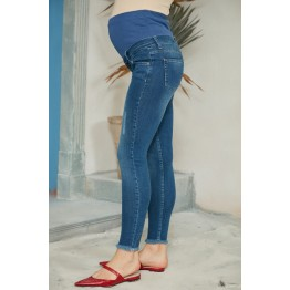 Maternity Dark Blue Super Skinny Jeans