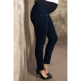 Maternity Simple Design Overbump Stretchy Jeans