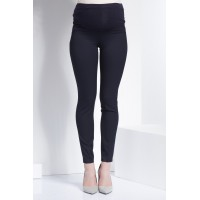 Maternity Dark Blue Soft Stretchy Skinny Trousers