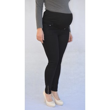 Maternity Black Overbump Jeans