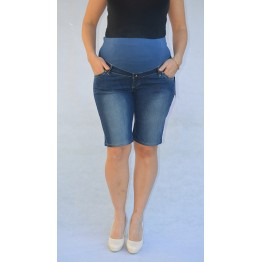 Maternity Dark Blue Overbump Pants