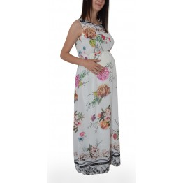 Maternity Three Colours Sleeveless Dress