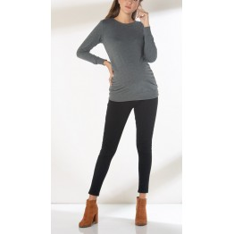 Maternity Grey Top