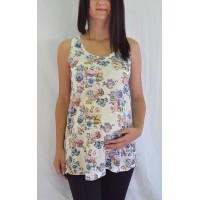 Maternity Colourful Soft Fabric Fancy Tunic Top