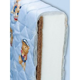 Baby and Child Bed Coconut and Foam Mattress ECO 1 Classic
