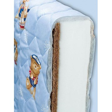 Baby and Child Bed Coconut and Foam Two Parts Mattress ECO 1-180х70