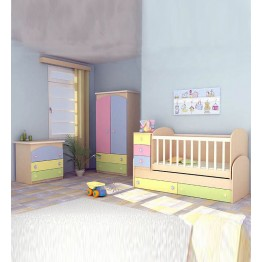 Baby and Child Bed Coconut and Foam Two Parts Mattress ECO 2 180х70 cm