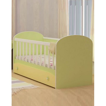 Baby Colour Combinations One Drawer Bed Diana
