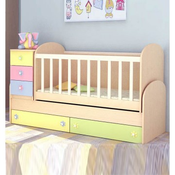 Baby Convertible Colour Combinations Swing Bed Alex