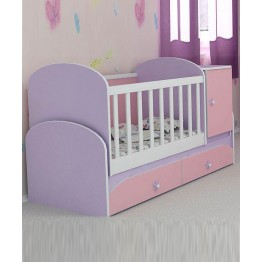 Baby Convertible Colour Combinations Swing Bed Gergana