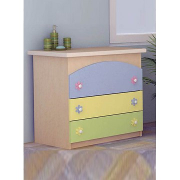 Baby Room Colour Variations Three Drawers Dresser