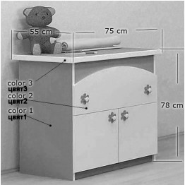 Baby Room Colour Combinations One Drawer Dresser