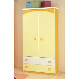 Baby and Child Room Colour Variations Wardrobe