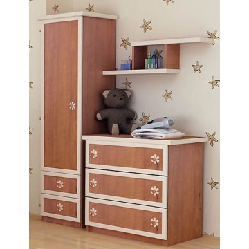 Baby Room Colour Combinations Three Drawers Relief Front Dresser
