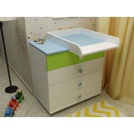 Baby and Child Room Colour Combinations Four Drawers Dresser Kvarta