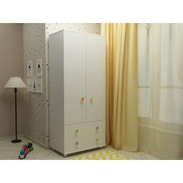 Baby and Child Room Colour Variations Wardrobe Happy