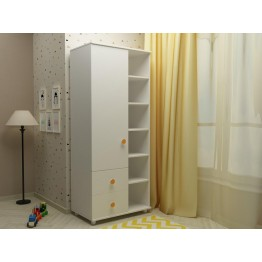 Baby Room Wardrobe with Shelves Lucky